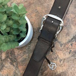 Micheal Kors leather belt